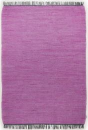 Covor Unicolor Cotton Colors, Bumbac, Mov, 140x200 - C16-1012409